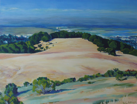 Edgewood Landscapes - Acrylic on Canvas -
