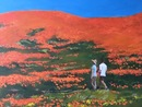 "California Poppy Preserve, oil on canvas, 18""x24"""